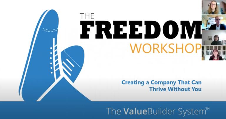 Building Business Value Webinar Slide